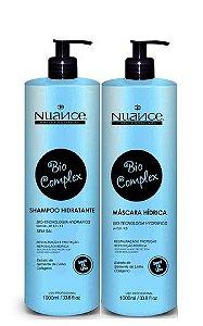 Nuance Bio Complex Shampoo e Máscara Hídrica 2x1litro