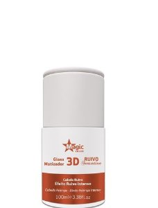 Magic Color Gloss Matizador 3D Ruivo Sensation Efeito Ruivo Intenso 100ml