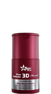 Magic Color Gloss Matizador 3D Efeito Marsala Intenso 100ml