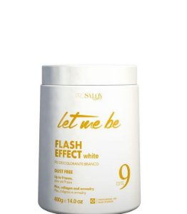 Let Me Be Pó Descolorante Flash Effect White Dust Free 9 tons 400g