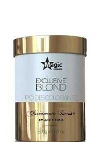 Magic Color Exclusive Blond Pó Descolorante 9 Tons 500g + Brinde