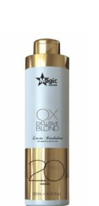 Magic Color Exclusive Blond Água Oxigenada Ox 20 Volumes 900ml