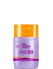 Magic Color Shampoo Matizador 3D Efeito Levemente Desamarelador 100ml
