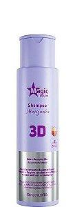 Magic Color Shampoo Matizador 3D Efeito Levemente Desamarelador 500ml