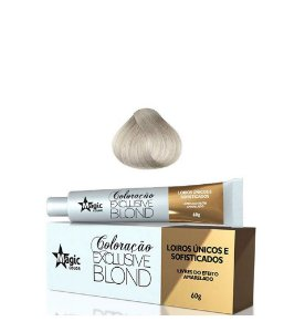 Magic Color Coloração Exclusive Blond Loiro Platinado Pérola 11.89  - 60g