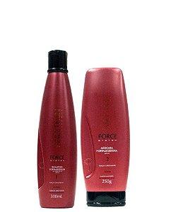Aneethun Force System Shampoo 300ml e Máscara Fortalecedora 250g