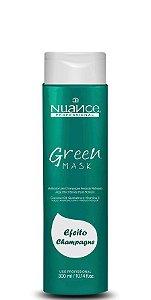 Nuance Máscara Matizadora Green Mask Efeito Champagne Pérola 300ml