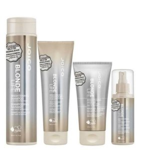 Joico Blonde Life Brightening Kit Completo 4 Produtos