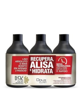 Doux Clair Bsk Kit Over Still Escova Progressiva Sem Formol 3x300ml