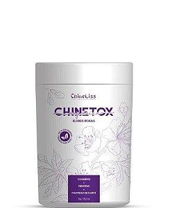 Chineliss B-tox Chines Chinetox Flores Roxas Sem Formol 1kg