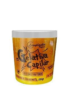 Gelatina Capilar Reconstrutora LisoPlastia Papaya + Creatina + Queratina 250g