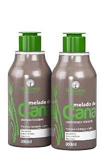 Natureza Cosméticos Kit Melado de Cana Shampoo e Condicionador 300ml