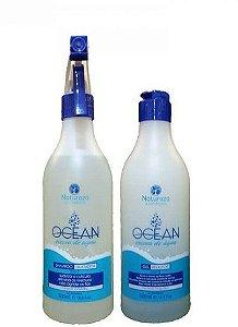 Natureza Cosméticos Ocean Escova de Água Ingel 2x500ml