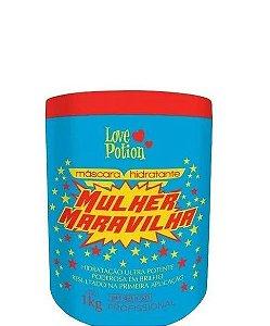 Love Potion Mulher Maravilha Máscara Hidratante Capilar 1kg