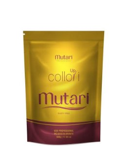 Mutari Pó Descolorante Up Collori Dusty Free Refil 500g