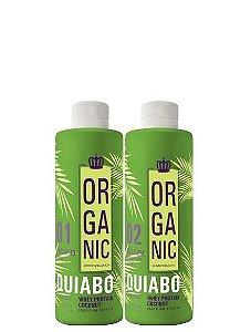 Escova Progressiva de Quiabo Semi-Definitiva 300ml Pequena