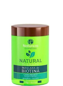 Natureza Cosméticos Natural Therapy Máscara de Biotina 1kg + Brinde
