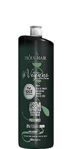 Troia Hair Escova Progressiva Vegana Sem Formol Semi Definitiva 1 litro
