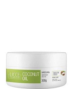 Licce Cosméticos Coconut Oil Máscara de Hidratação 300g