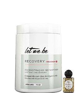Let Me Be Recovery Mask Máscara de Tratamento Fortificante 1kg + Óleo