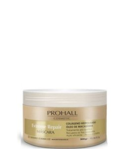 Prohall Máscara Home Care Extreme Repair Macadamia 300g + Brinde