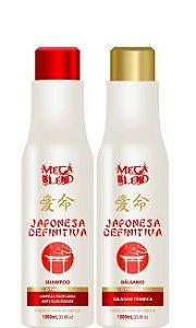 Mega Blend Escova Japonesa Definitiva Bálsamo Selante 2x1litro