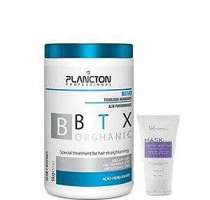 Plancton Btx Orghanic Sem Formol 1kg + Mask Restore 100g