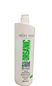 Tróia Hair Progressiva Organic Semi-Definitiva Sem Formol Step 2 - 1Litro