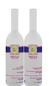 Eternity Liss Perola Escova Organica Plastica do Fios Sem Formol 1 Litro