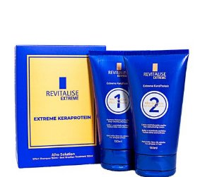 Revitalise Extreme KeraProtein Afro Solution Progressiva Sem Formol 150ml