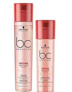 Schwarzkopf Professional Bc Bonacure Peptide Repair Shampoo e Condicionador