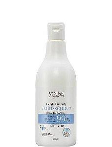 Youse Cosmetics Álcool em Gel 70% Antisséptico Antibactericida 500ml