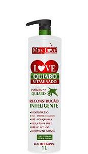 May Love Quiabo Vitaminado Reconstrução Inteligente 1 litro