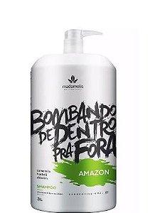 Madamelis Amazon Shampoo Hidratante Lavatório 3 Litros