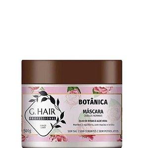 GHair Botânica Máscara para Cabelos Normais - Óleo de Rosas 500g