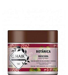 G.hair Botânica Máscara para Cabelos Coloridos Semente de Uva 500g