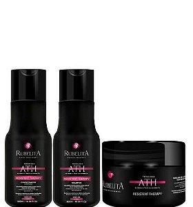 Rubelita Resistent Therapy Shampoo Condicionador 300ml + Máscara 250g