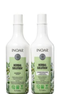 Inoar Herbal Solution Kit Shampoo e Condicionador 2x1litro
