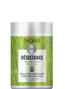 Inoar Résistance Fibra de Bambu Máscara Mega Hidratante 1kg