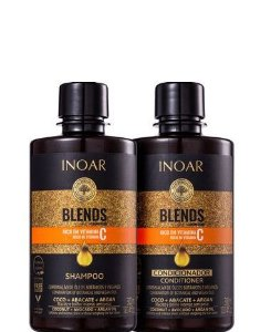 Inoar Coleção Blends Kit Shampoo e Condicionador Duo 2x300ml