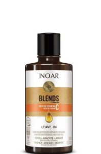 Inoar Coleção Blends Leave-in Elimina o Frizz e Finaliza 300ml