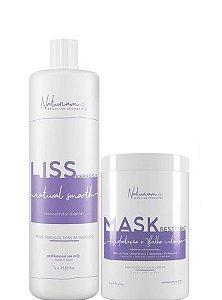 Naturiam Progressiva Liss Express S Formol 1L + Mask Restore 1kg