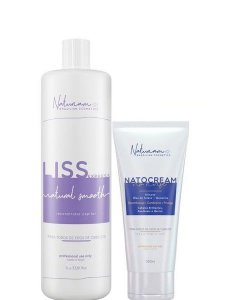 Naturiam Progressiva Liss Express S Formol 1L + Leave-in Natocream 250g