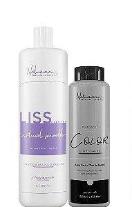 Naturiam Progressiva Liss Express Blond S Formol 1L + Mask Black 500ml