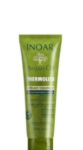 Inoar Argan Oil Thermoliss Defrizante Termoativo 240ml + Brinde