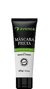 Avenca Máscara Preta Facial Removedora De Cravos - 60g