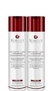 Rubelita Shampoo e Condicionador Reconstrutor Extreme Care 2x300ml