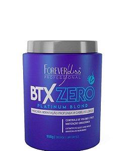 Forever Liss Btx Zero Platinum Blond Matizador Sem Formol 950g