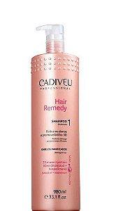 Cadiveu Hair Remedy Shampoo Tratamento Profissional 980ml