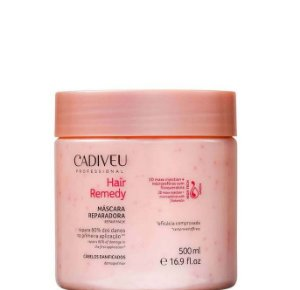 Cadiveu Hair Remedy Máscara Reparadora Para Cabelos Danificados 500ml